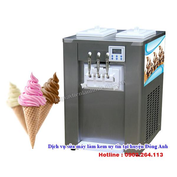 Dịch vụ sửa máy làm kem uy tín tại huyện Đông Anh