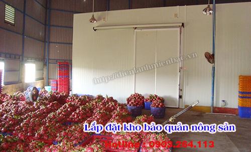 Lắp đặt kho bảo quản nông sản khoai tây tại Bắc Ninh